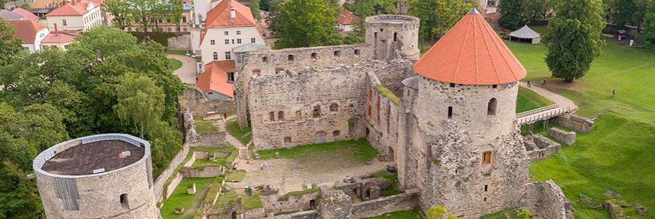 <p>500 years ago the castle was the mightiest medieval fortress in Livonia, but today &#8211; the most impressive and well preserved castle ruins in Latvia.</p>