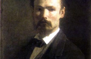 Estonian national painting founder Johan Kohler