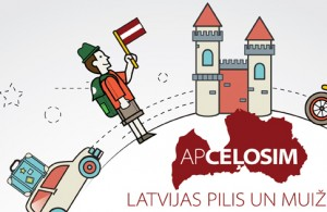 """Piedalies apceļošanas akcijā """"Apmeklēsim Baltijas muižas – svinēsim kopā""""."""
