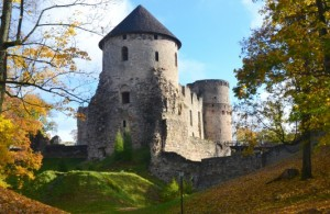 Cēsis Castle working hours from 1st October